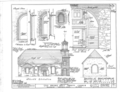 Holy Trinity Church, Seventh and Church Street, Wilmington, New Castle County, DE HABS DEL,2-WILM,1- (sheet 3 of 7).png