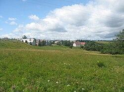 Hora svatého Ševestiána (Czech Republic) from North.jpg