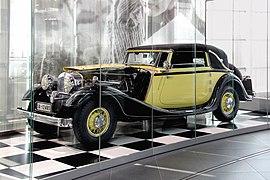 Horch V 12 Cabriolet 670 (museum mobile 2013-09-03).JPG