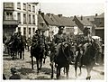 Horse Artillery on the march (Fenges, France). Photographer- H. D. Girdwood. (13875083564).jpg