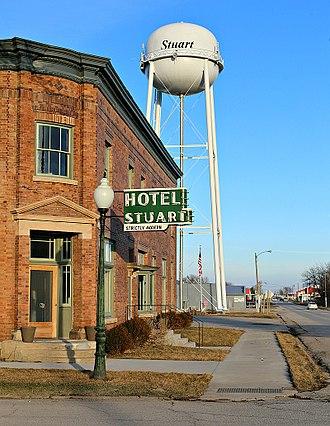 Stuart, Iowa - Hotel Stuart