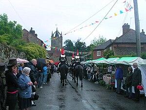 Tillington, West Sussex - Image: Household cavalry at Tillington (1)