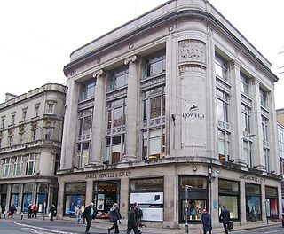 Howells (department store) Grade II* listed building in Cardiff. Department store in Cardiff, Wales