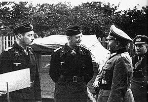 Rudolf Sieckenius - Strachwitz, Sieckenius, and Hube
