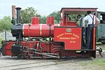 Hudswell, Clarke and Co. Locomotive No. 1643 at WLLR -1.jpg