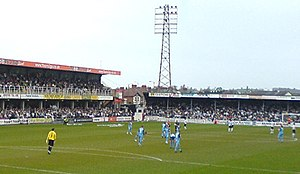 Herefordshire - Edgar Street is the home ground of Hereford F.C., the successors to Hereford United, the only club from the county to have ever played in The Football League.