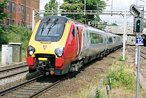 InterCity West Coast - Virgin Trains Class 221 ''Voyager'' at Watford Junction station in June 2008