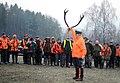 Hunt organizer briefing hunters in Hohenfels 00.jpg