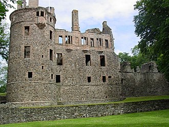 Marquess of Huntly - Huntly Castle, the former seat of the Marquesses of Huntly
