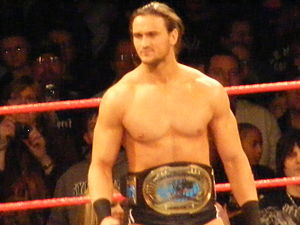 Over the Limit (2010) - The Intercontinental Champion Drew McIntyre, who defended the championship against Kofi Kingston at Over the Limit.