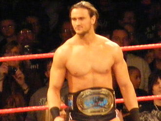 Drew McIntyre - McIntyre as the Intercontinental Champion in December 2009