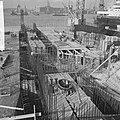 IJ-tunnel in aanbouw, opening viadukt prins Hendrikkade ingang zuid van IJ-tunne, Bestanddeelnr 918-2729.jpg