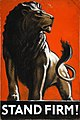 INF3-128 War Effort Stand Firm (Lion) Artist Tom Purvis.jpg