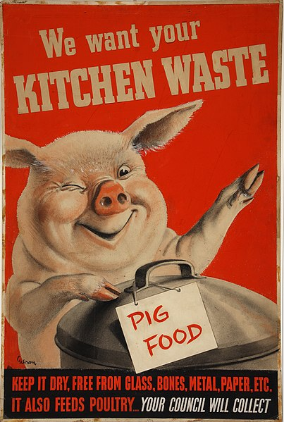 File:INF3-224 Salvage We want your kitchen waste (pig with dustbin) Artist Gilroy.jpg