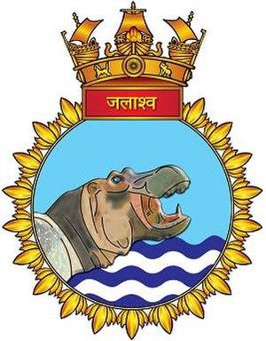 INS Jalashwa (L41) - INS Kolkata crest