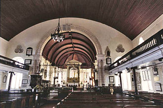 Diocese of Barbados - Interior of St Michael's Cathedral