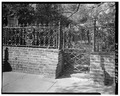 IRON FENCE AND GATE, SOUTH SIDE OF PROPERTY - 60 Hasell Street (Mansion), Charleston, Charleston County, SC HABS SC,10-CHAR,293-6.tif