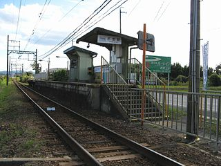 Ichibe Station Railway station in Iga, Mie Prefecture, Japan
