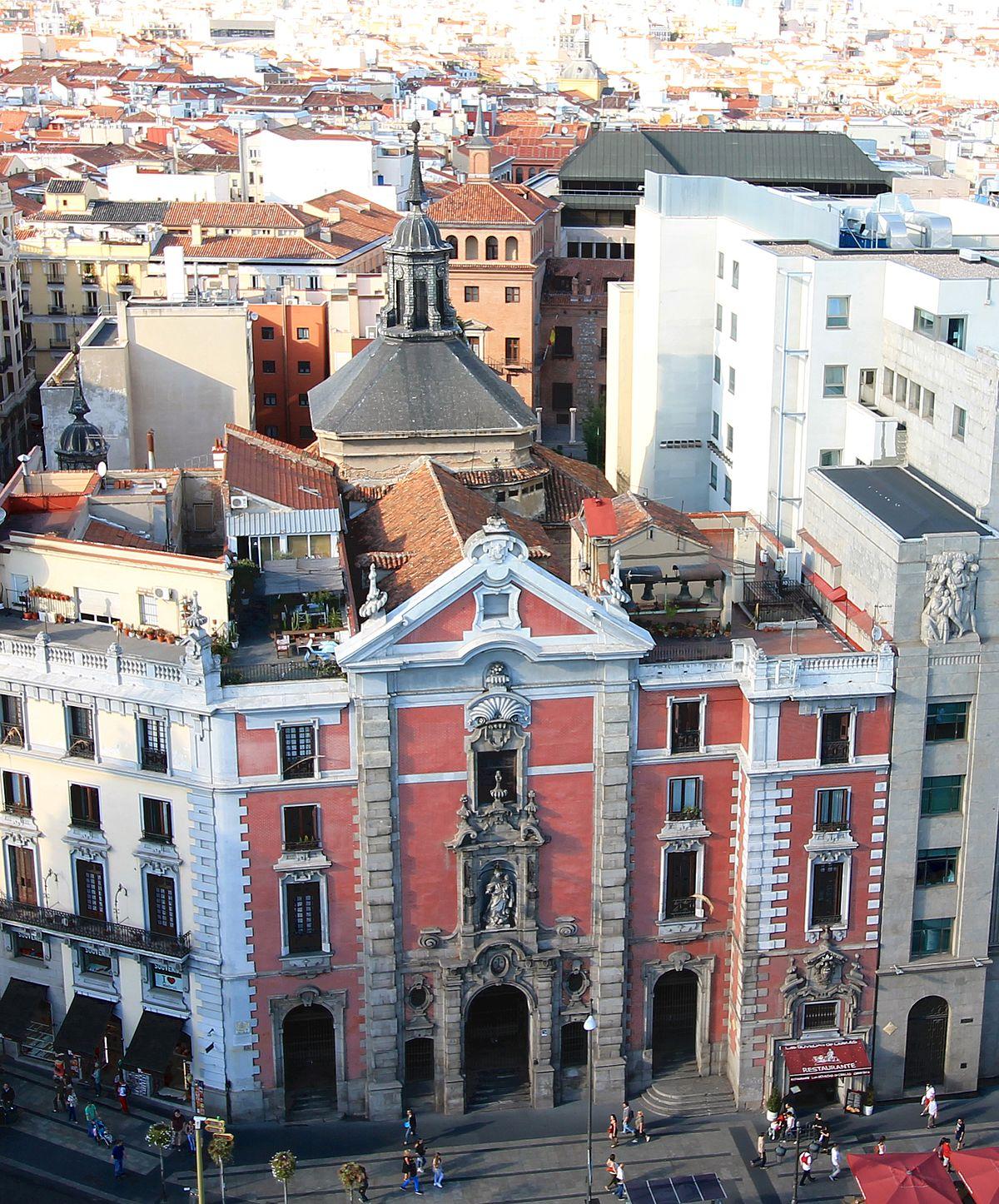 Iglesia de san jos madrid wikipedia la enciclopedia - H m calle orense madrid ...