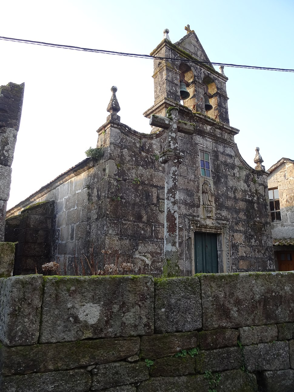 Igrexa Santo Estevo de Nóvoa, Carballeda de Avia