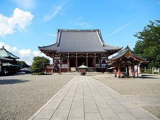 Ikegami Honmon-ji - Soshi-dō (founder's hall)