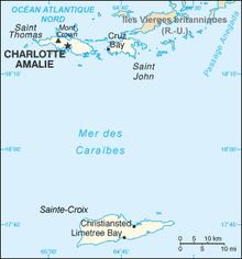 U s virgin island area code
