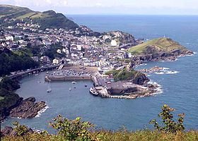 Ilfracombe vue de Hillsborough