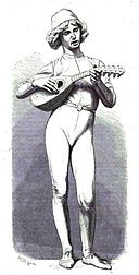 Illustration chanteur florentin Paul Dubois par Théron.jpg