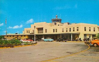 Imeson Field - Imeson Airport in the 1950s