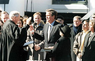 Jeb Bush - Inauguration ceremony of Jeb Bush, January 5, 1999