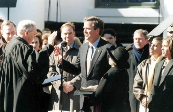 Inauguration ceremony of Jeb Bush