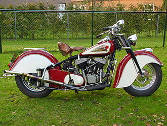 Indian Chief (motorcycle) - 1948 Indian Chief