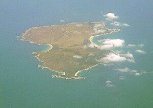 Inner Sister Island - View of Inner Sister Island, looking west