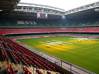2016–17 UEFA Champions League - Image: Inside the Millennium Stadium, Cardiff