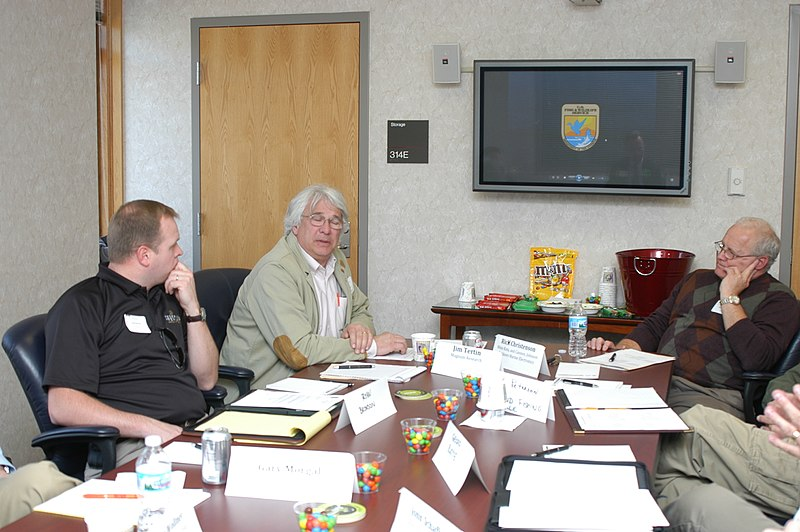 File:Inside the listening session room, during a discussion about WSFR program. USFWS photo. (5600706597).jpg