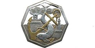 Régiment d'infanterie-chars de marine - Image: Insigne du 5e Bataillon du Régiment d'Infanterie Coloniale du MAROC