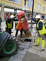 Installing a postbox, Canal Walk, Swindon (2 of 4) - geograph.org.uk - 1749745.jpg