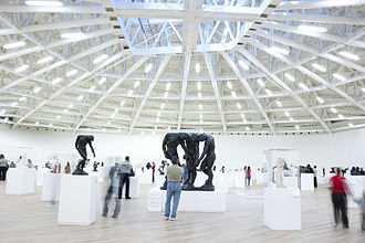 Museo Soumaya - The Julián and Linda Slim gallery, Plaza Carso building, where much of the Rodin and Dali collection is displayed