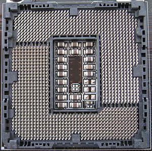 LGA 1155 - Image: Intel Socket 1155
