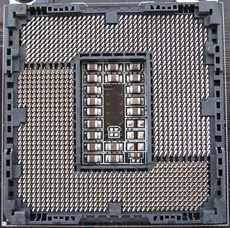 LGA 1155 - Image: Intel Socket 1155