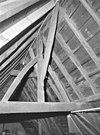 interieur, ridderzaal, zolder, overzicht kapconstructie, nokgebint - boxmeer - 20001083 - rce