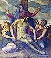 Interior of Santi Giovanni e Paolo (Venice) - Gian Battista Zelotti - Dead Christ.jpg