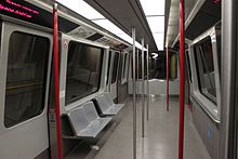 Interior Of Satellite Transit System Seattle Washington Opened In 1969 It Is One The First Operational Automated People Mover Systems World