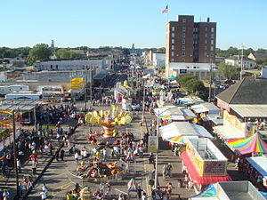International Rice Festival - Crowley's Main Street in the International Rice Festival, 2007