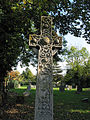 Intricately carved Celtic Cross - geograph.org.uk - 590346.jpg