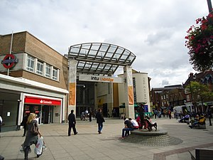 The Chimes, Uxbridge - The shopping centre entrance