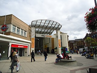 The Chimes, Uxbridge Shopping mall in Greater London, England