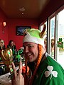 Irish Viking at the Whiskey Priest, Boston, Massachusetts.JPG