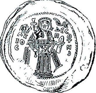 Isaccea - Seal of Isaac II Angelos, found in Isaccea