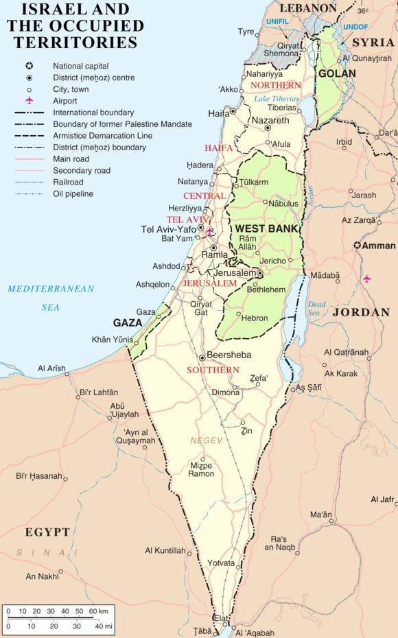Cartina Fisica Palestina.Palestina Wikiwand